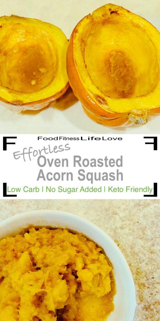 Acorn Squash Recipe Pin