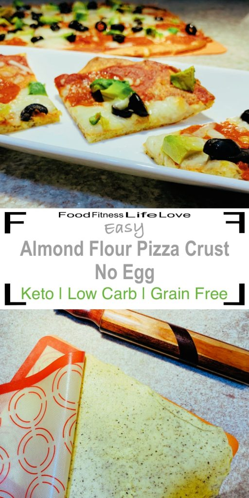 Almond Flour Pizza Crust Pin