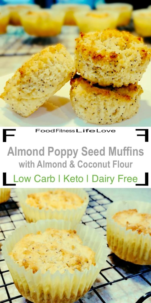 Almond Poppy Seed Muffins Pin