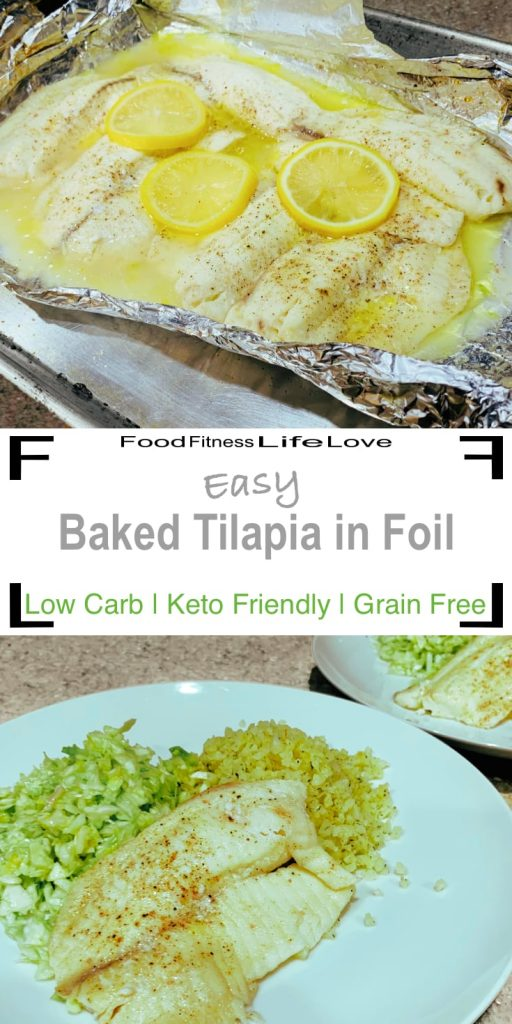 Baked Tilapia with Foil Pin