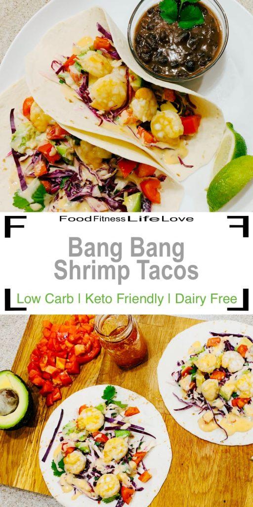 Bang Bang Shrimp Tacos Recipe Pin
