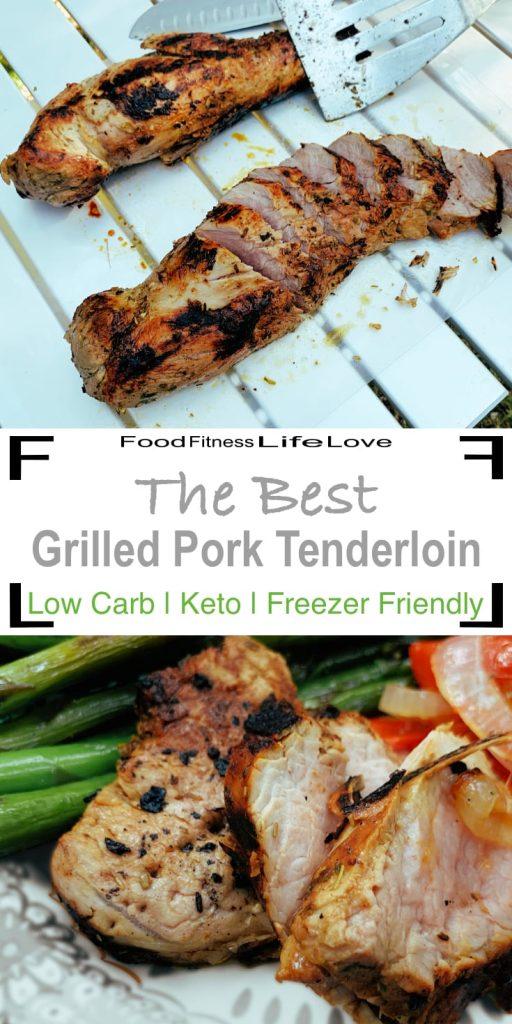 Best Grilled Pork Tenderloin Recipe Pin