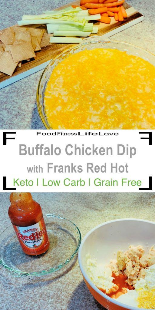Buffalo Chicken Dip Recipe Franks Red Hot Ffll