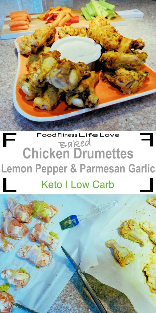 Chicken Drumette Recipe Pin