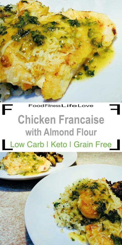 Chicken Francaise Recipe Pin