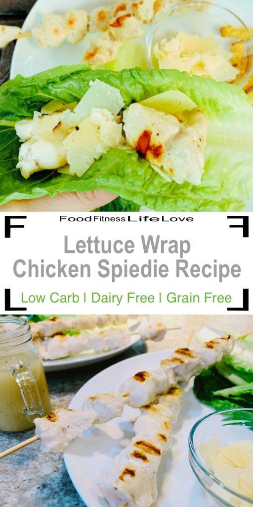 Chicken Spiedie Recipe Pin
