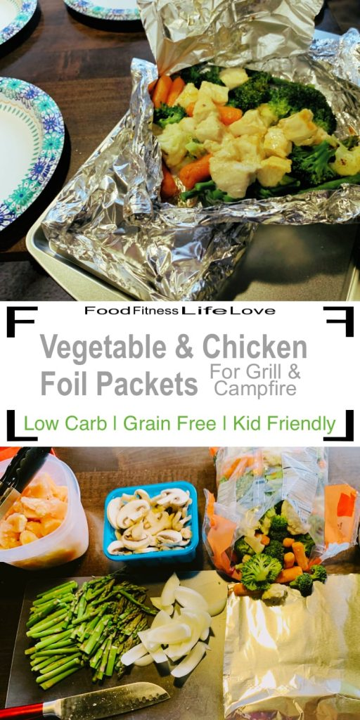 Chicken Foil Packets Grill Pin