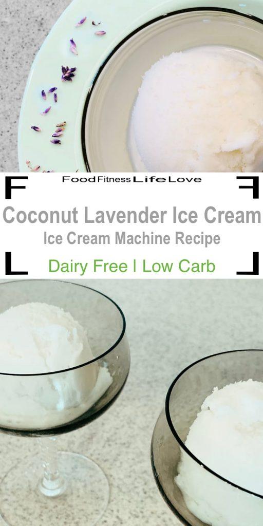 Coconut Lavender Ice Cream Pin
