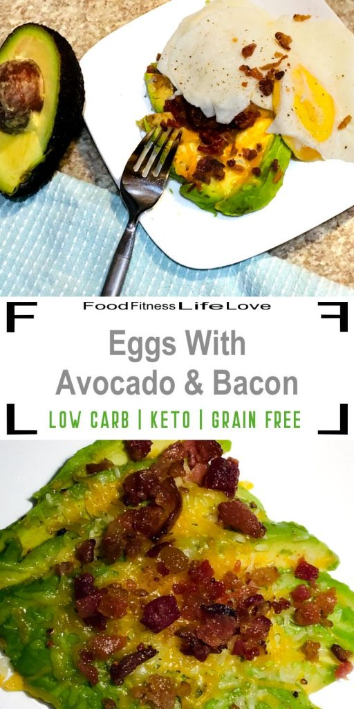 Eggs with Avocado and Bacon Pin