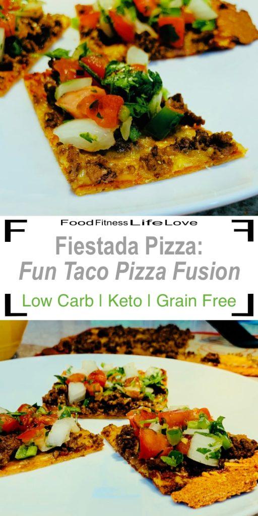 Fiestada Pizza Recipe Pin