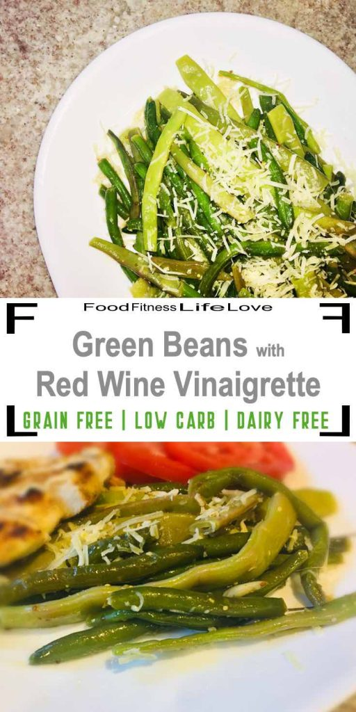 Green Beans with Red Wine Vinaigrette Pin