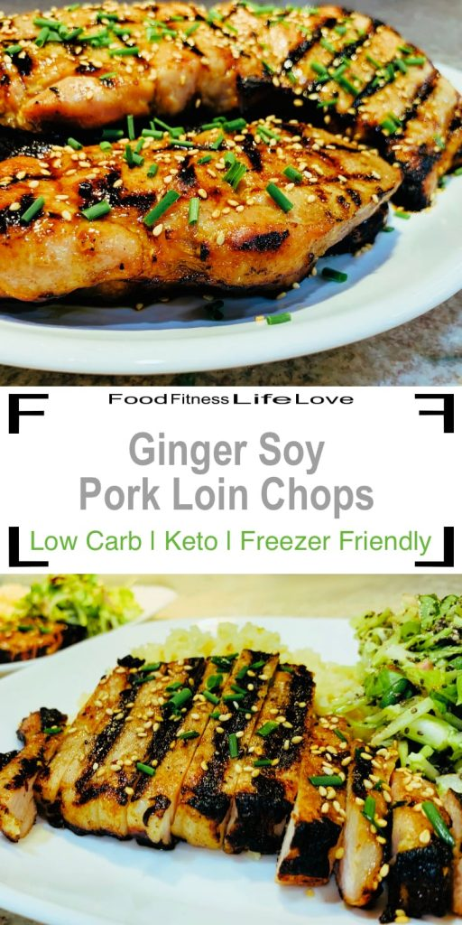 Grilled Boneless Pork Loin Chops Recipe Pin