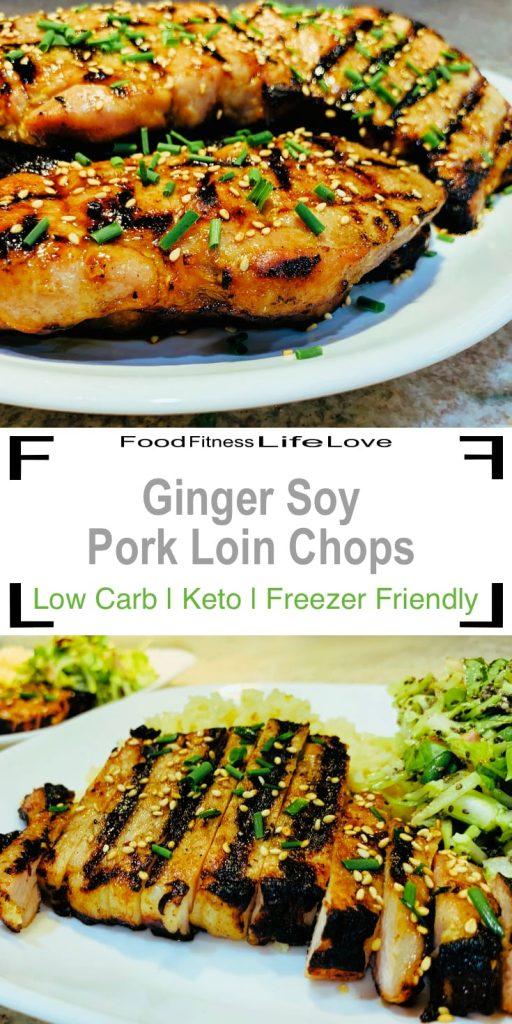 Grilled Boneless Pork Loin Chops Recipe Pin