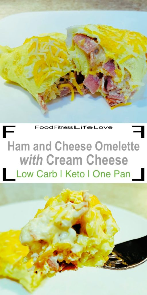 Ham and Cheese Omelette Pin