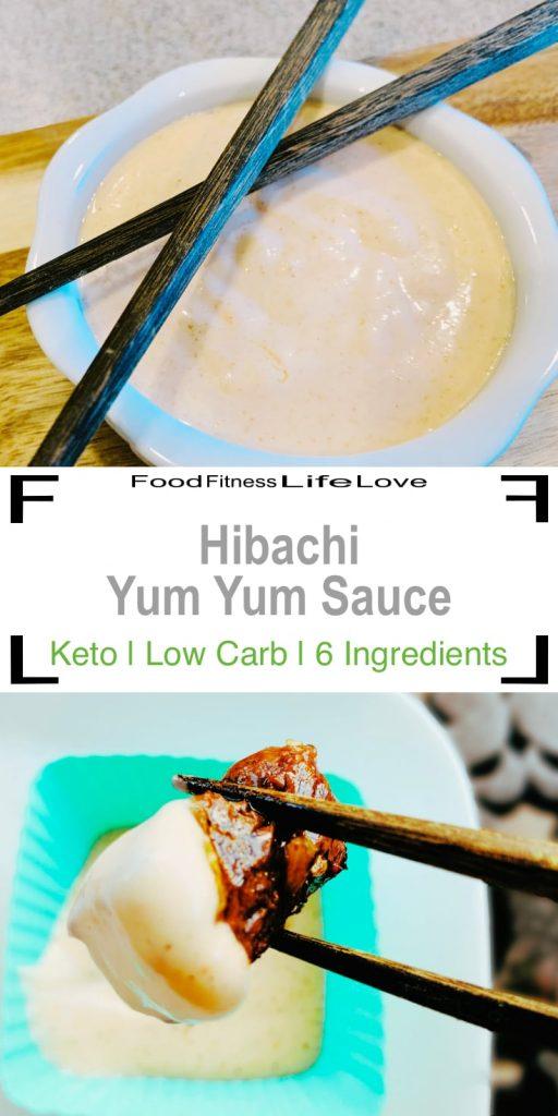 Hibachi Yum Yum Sauce Pin
