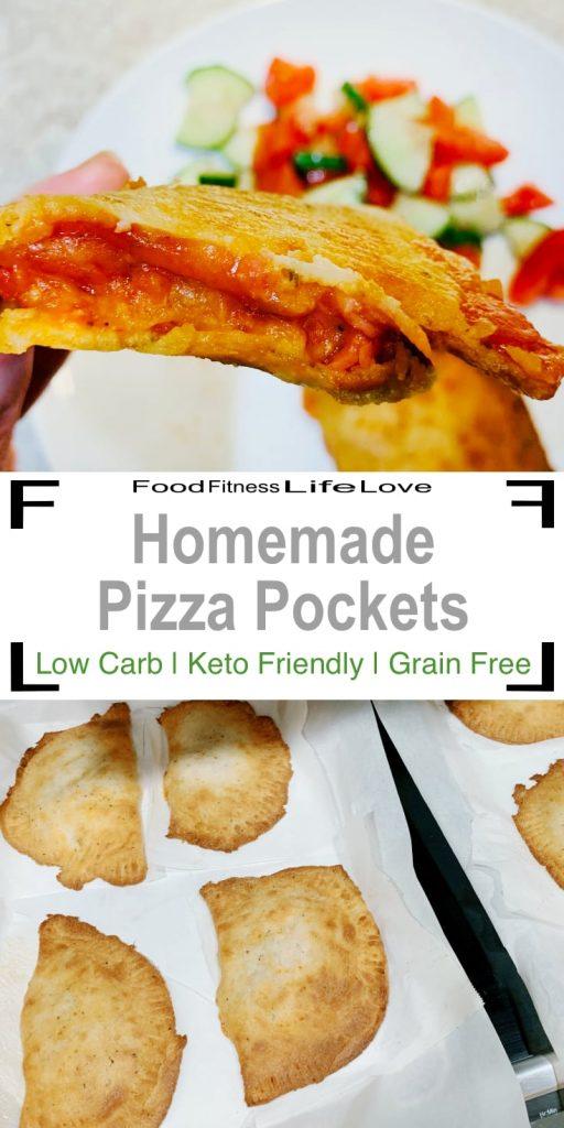 Homemade Pizza Pockets Pin