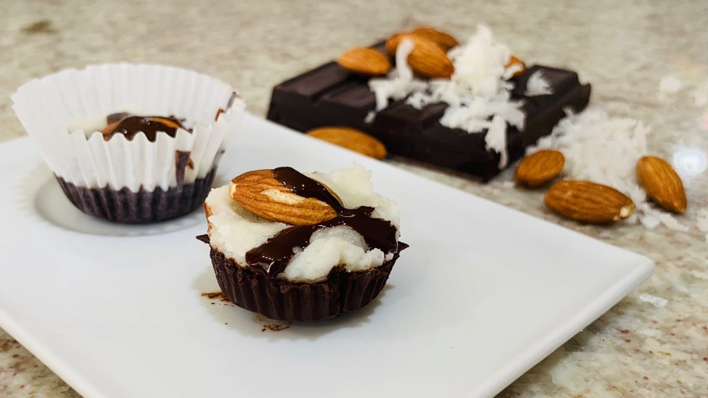 Keto Almond Joy Fat Bomb