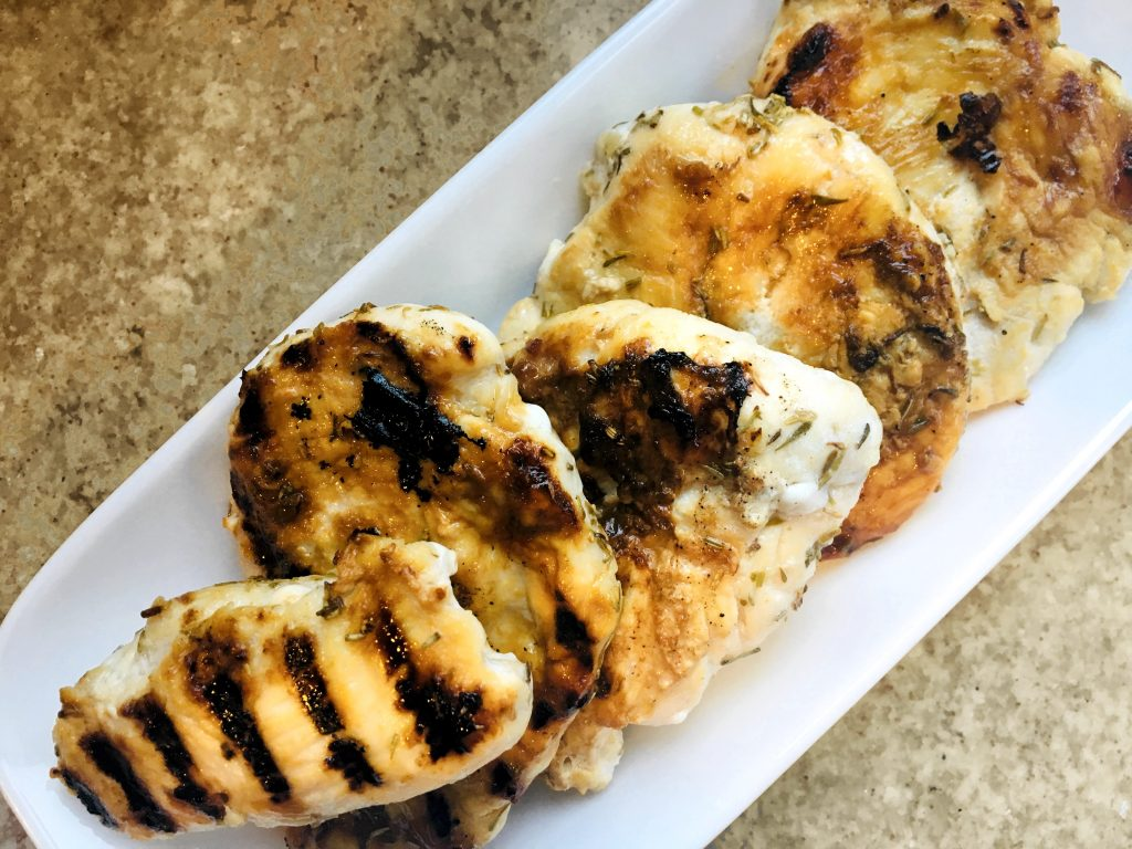 Lime and Herb Marinated Chicken