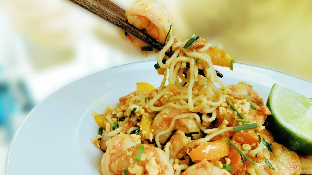 Low Carb Shrimp Pad Thai