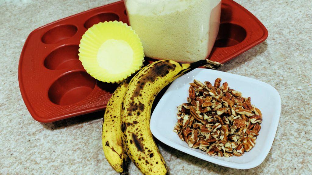 Bananas, Pecans, and Almond Flour