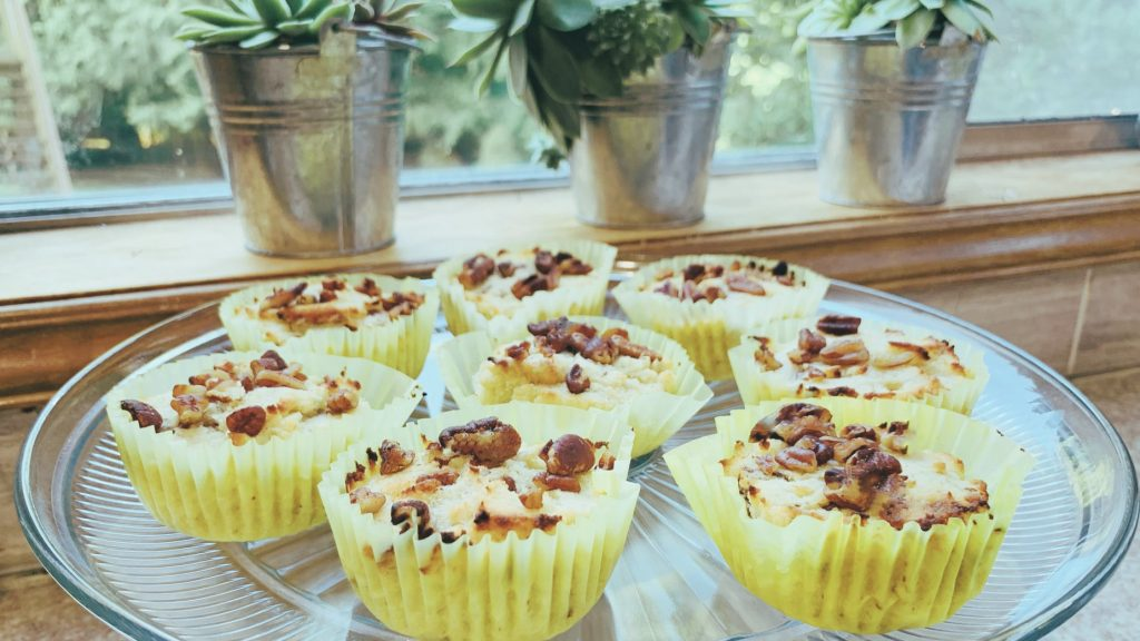 Low Carb Banana Nut Muffins