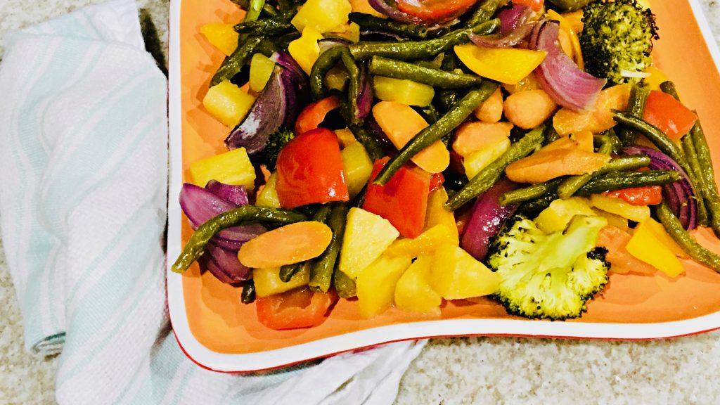 Oven Roasted Hawaiian Vegetables