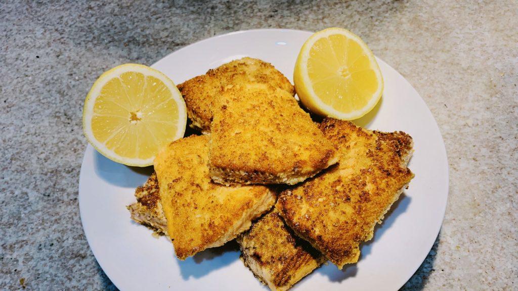 Salmon Meuniere Recipe with Almond Flour
