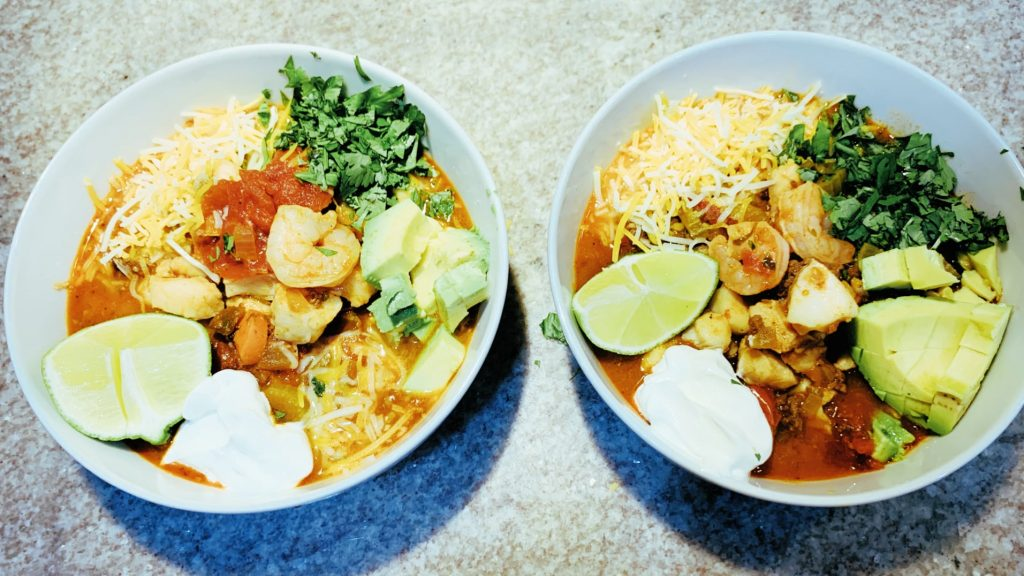 Mexican Fish Stew with Shrimp