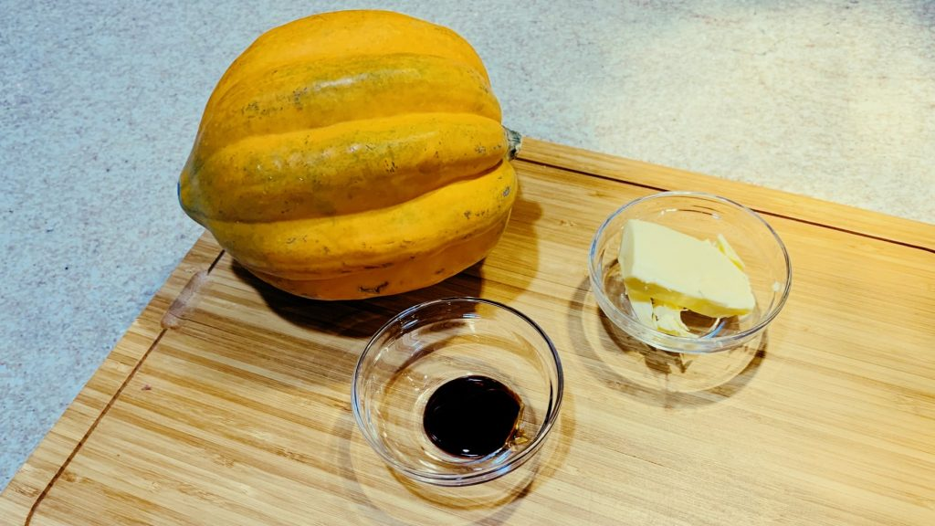 Acorn Squash, Butter and Molasses
