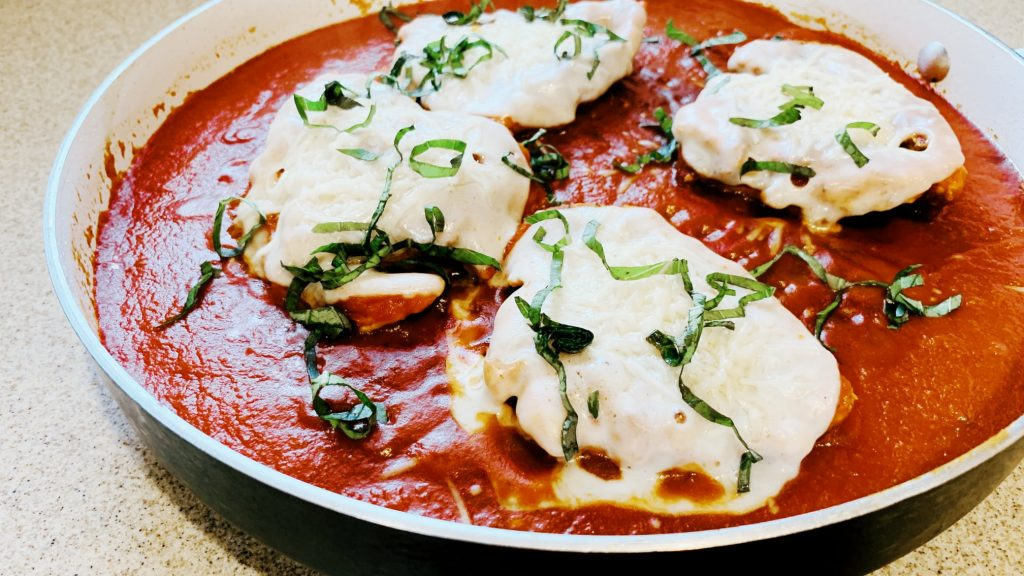 Pan Fried Chicken Parm