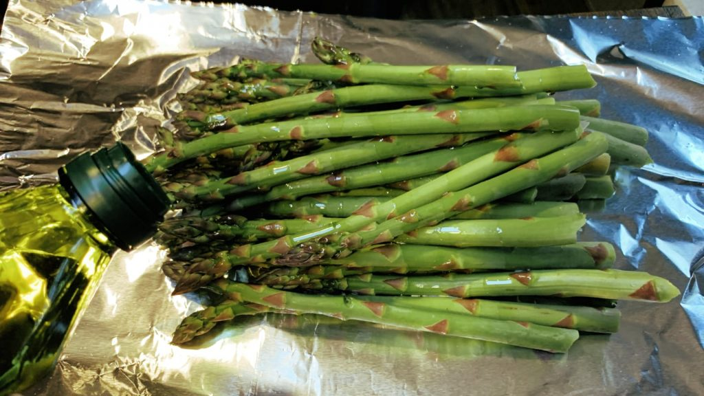 Asparagus Foil Packet
