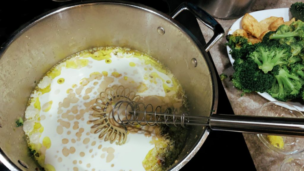 Garlic Cream Sauce