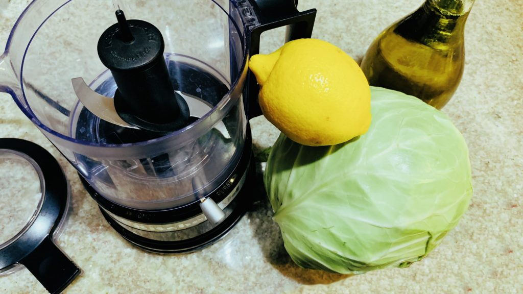 Lemon Coleslaw
