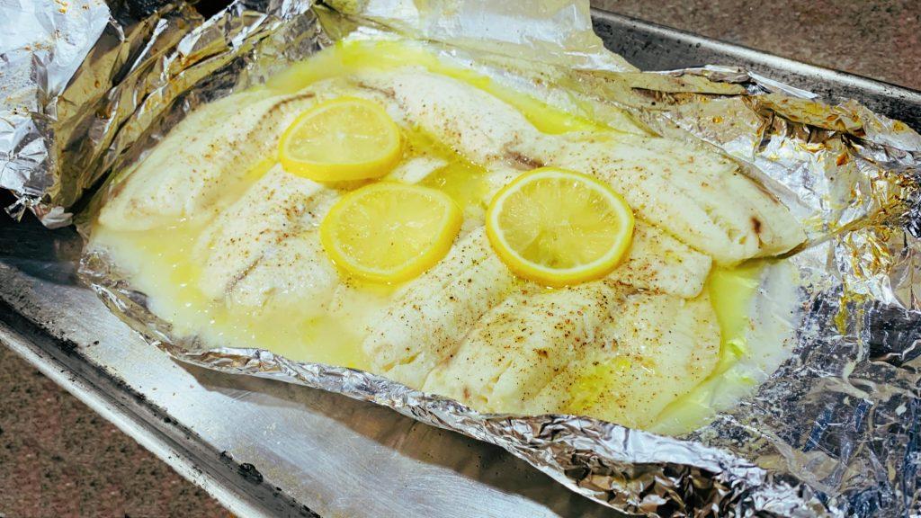 Lemon Baked Tilapia