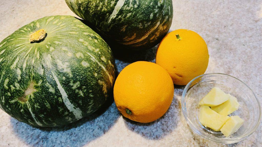 Kabocha Squash, Oranges, Ginger