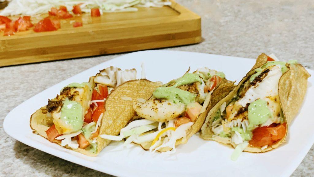 Ling Cod Fish Taco Recipe