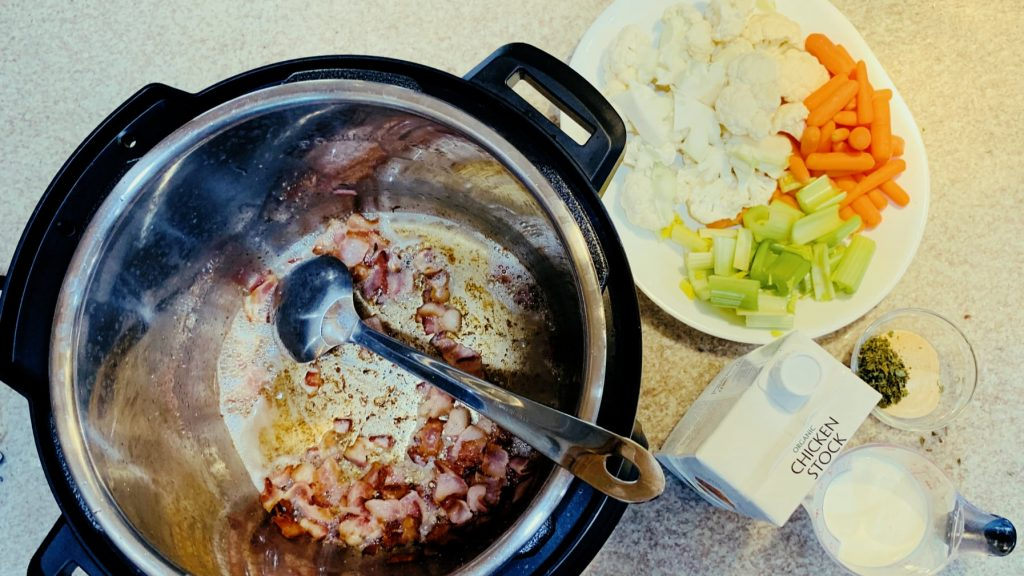 Sautéing Bacon in Instant Pot