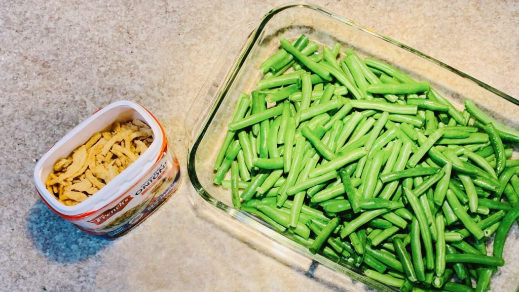 French's Onions, Green Beans
