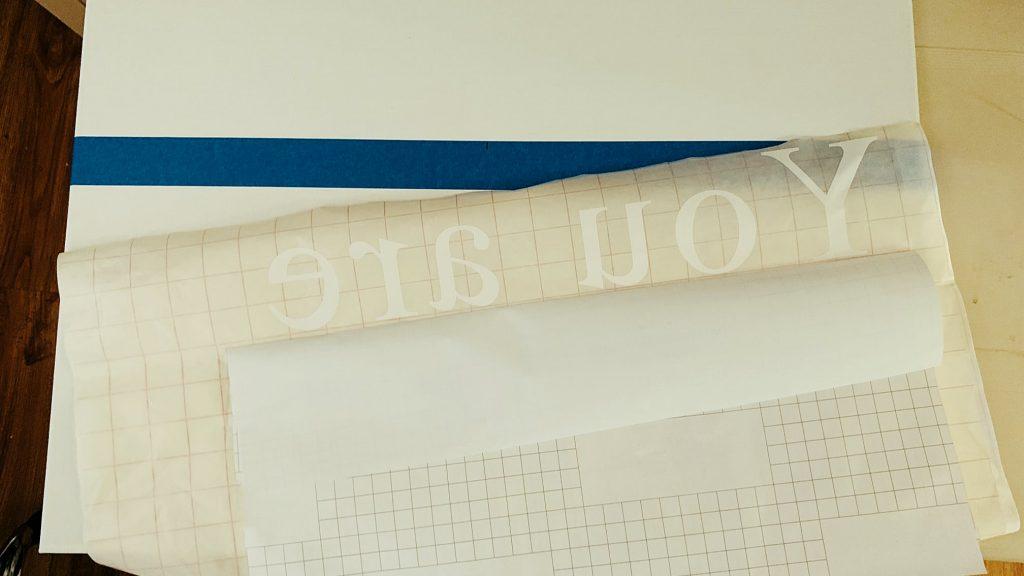 Silhouette Transfer Tape Vinyl Canvas