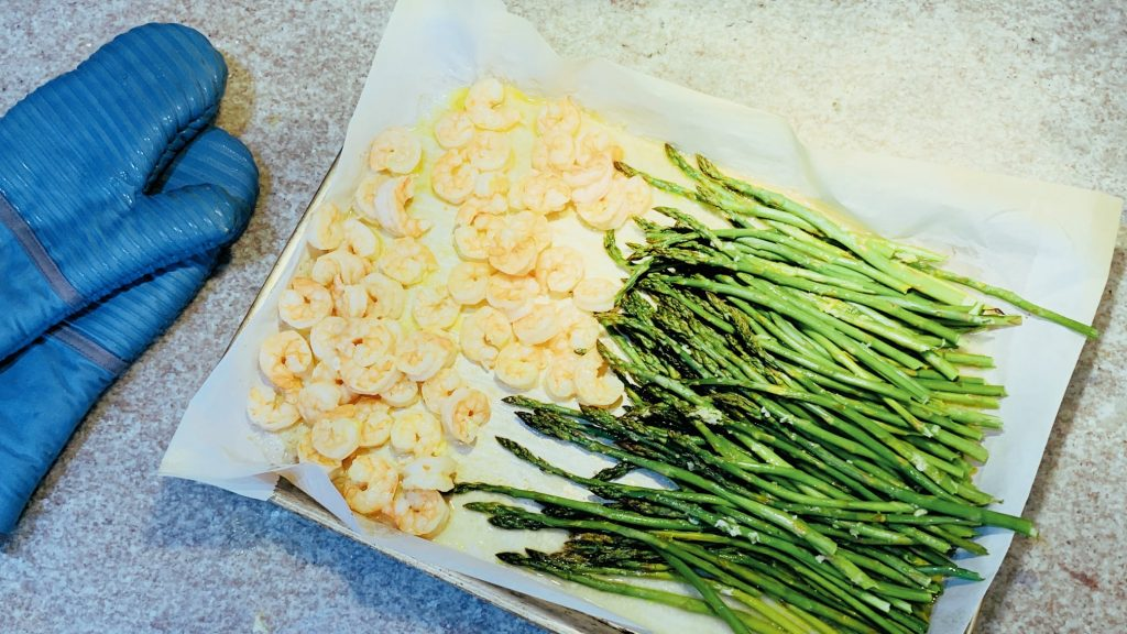 Sheet Pan Shrimp and Asparagus