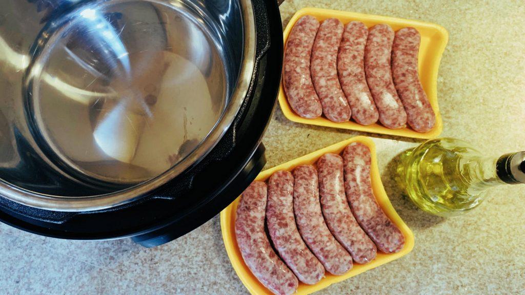 Instant Pot, Bratwurst, Olive Oil