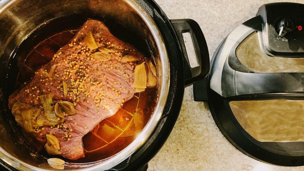 Tender Instant Pot Corned Beef