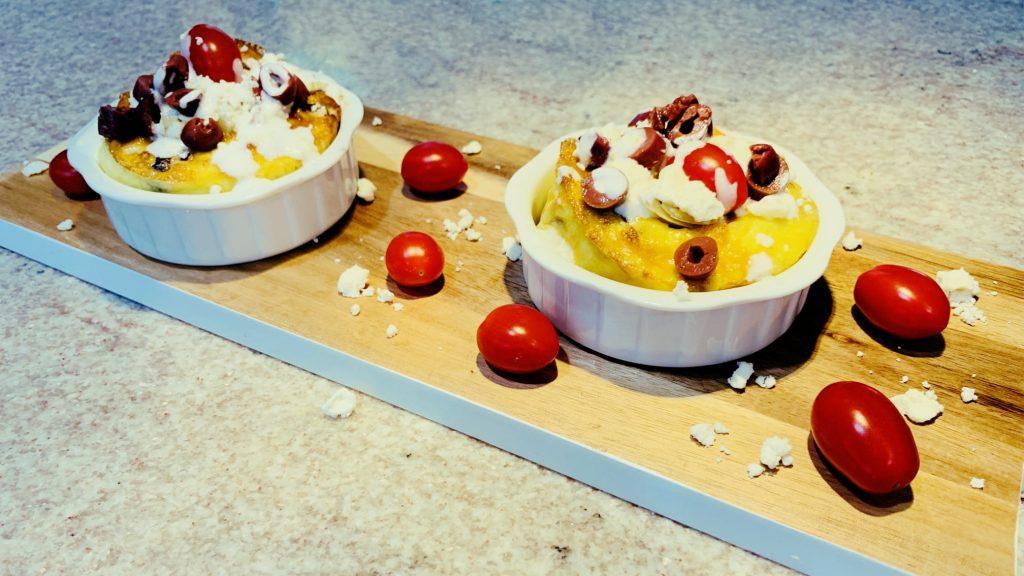 Individual Mediterranean Frittata Recipe