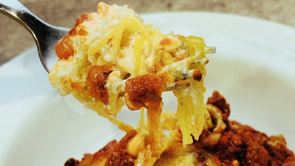 Spaghetti Squash Layered Casserole