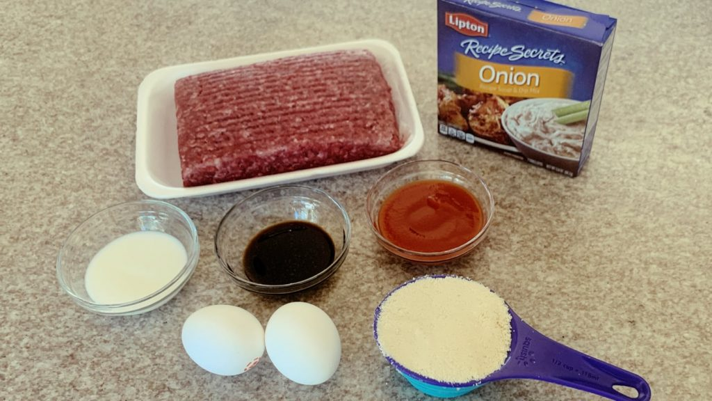 Ground Beef and Lipton Onion Soup
