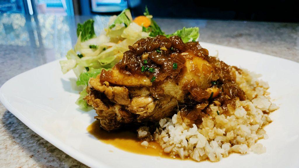 Easy Instant Pot Chicken Adobo