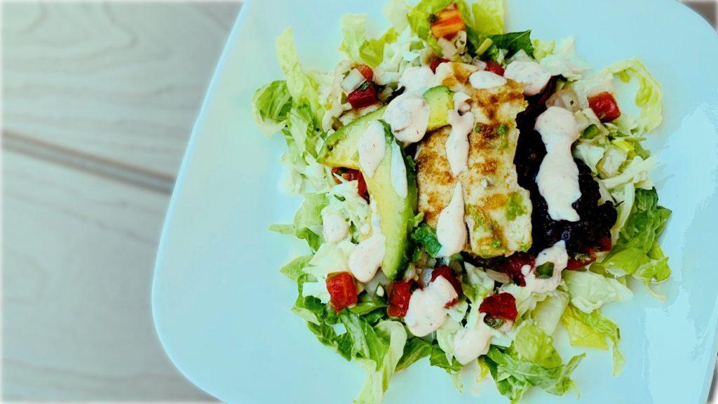 Mahi Fish Taco Salad
