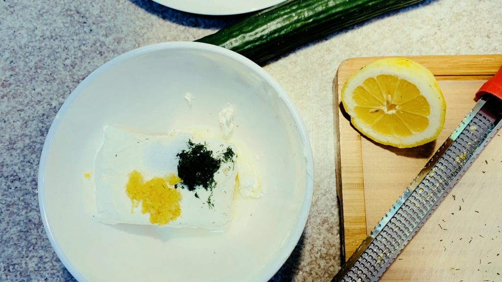 Cream Cheese with Lemon and Dill