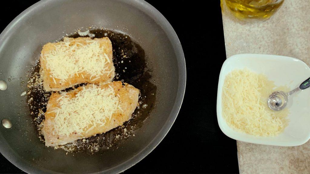 Parmesan Crusted Boneless Pork Chops