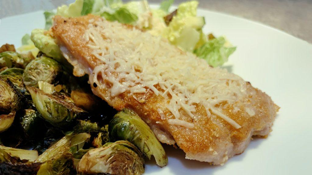 Parmesan Crusted Boneless Pork Chops Recipe
